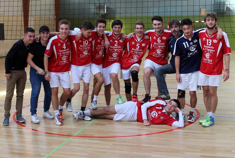 USM VOLLEY-BALL M20 Masculin