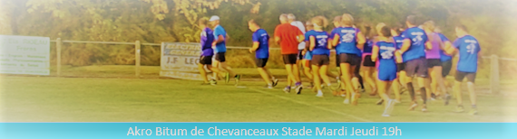 AKROBITUM : site officiel du club d'athlétisme de CHEVANCEAUX - clubeo