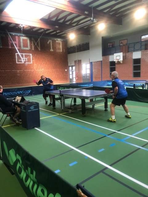 Album fftt photos des 3 quipes sur le pont pour - Calculateur de points tennis de table ...