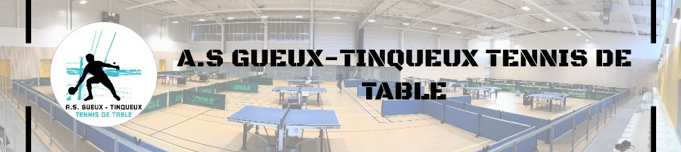 AS GUEUX TINQUEUX Tennis de Table : site officiel du club de tennis de table de Verzenay - clubeo