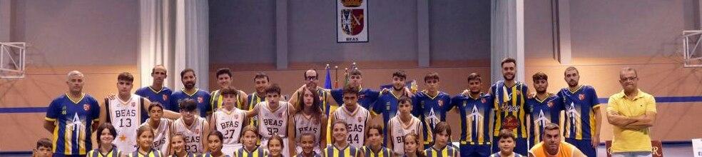 CLUB BALONCESTO BEAS : sitio oficial del club de baloncesto de BEAS  (HUELVA) - clubeo