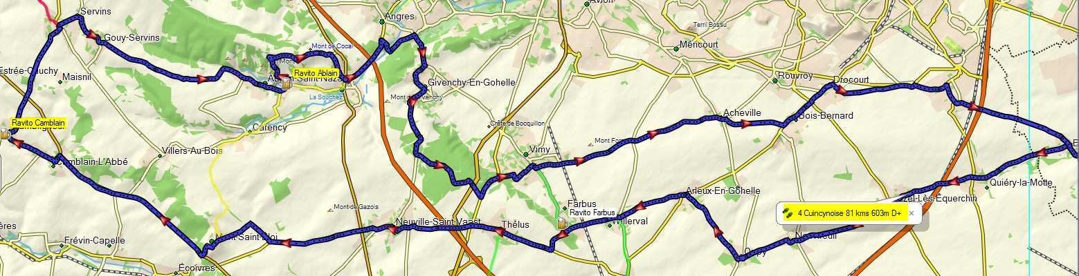 Circuit de 81 kms