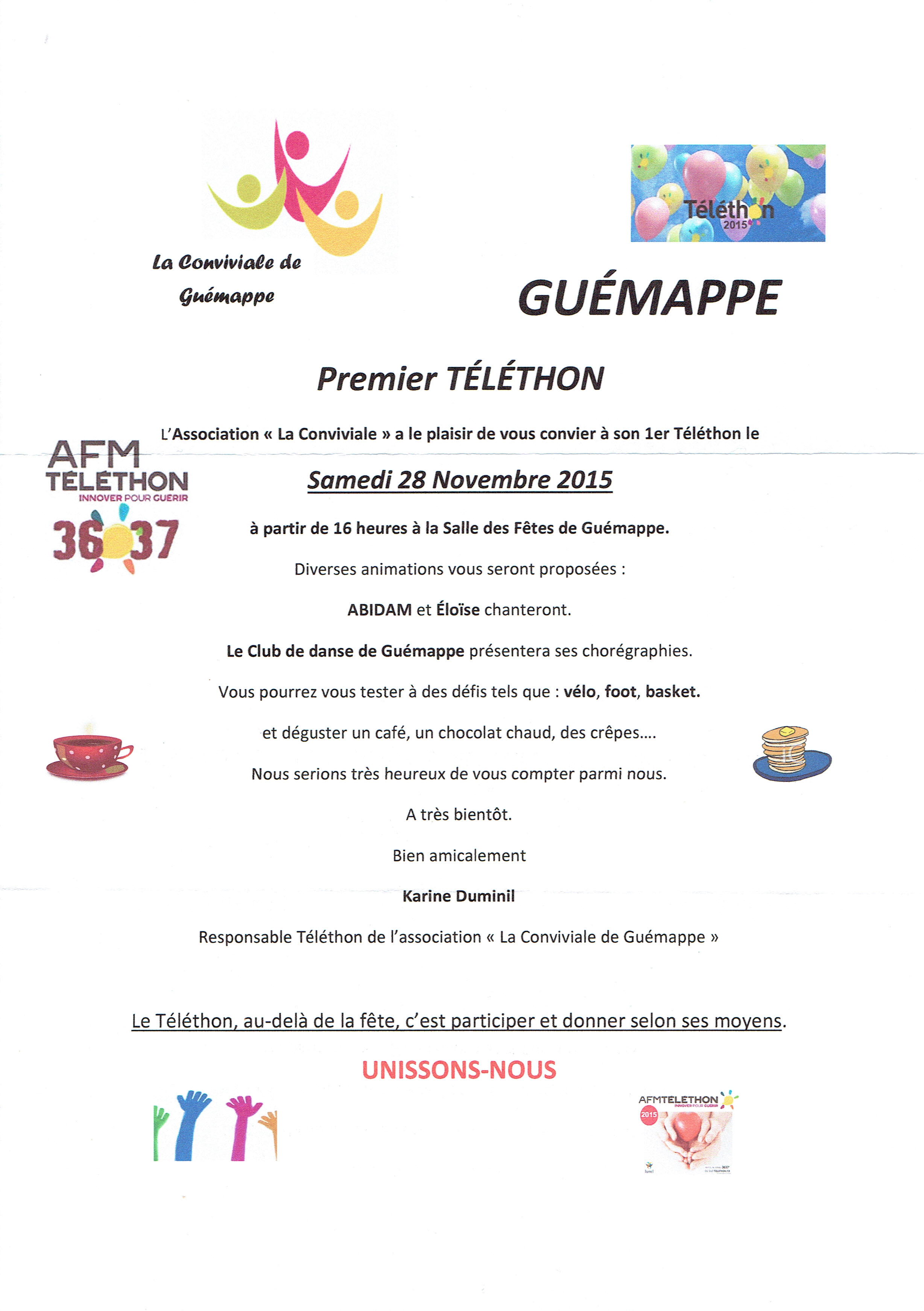 telethon guemappe