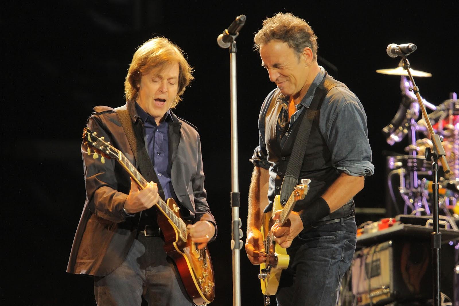 Paul McCartney & Bruce Springsteen