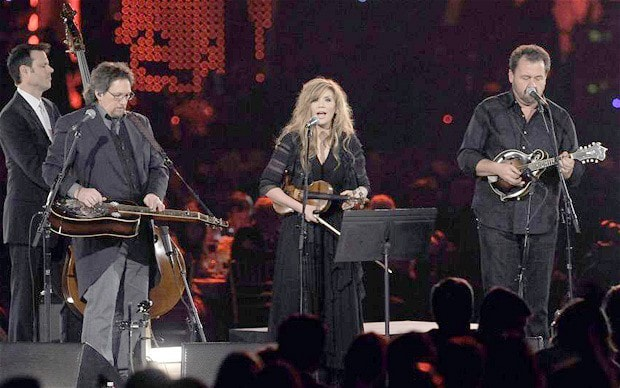 Alison Krauss and Jerry Douglas
