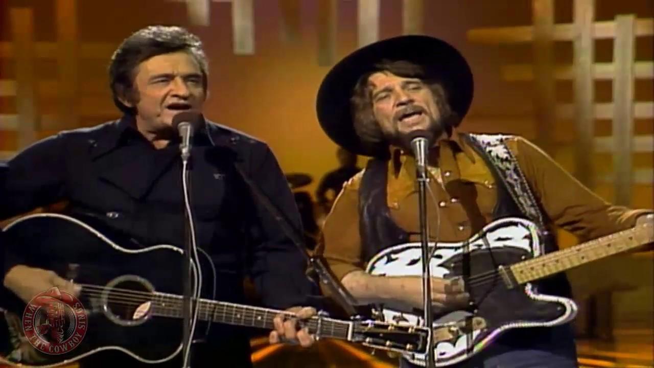 Waylon Jennings And Johnny Cash
