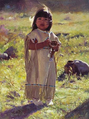 Enfant Amérindien