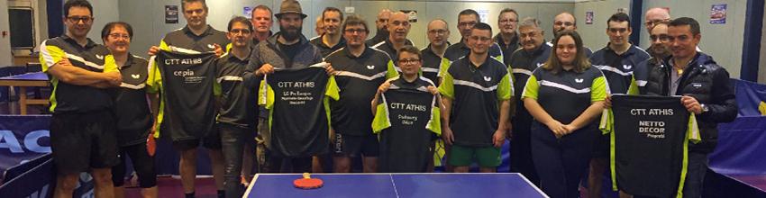 CTT ATHIS : site officiel du club de tennis de table de ATHIS DE L ORNE - clubeo