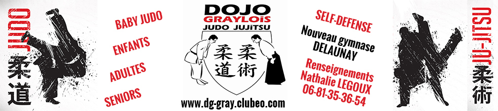 dojo graylois : site officiel du club de judo de VELET - clubeo