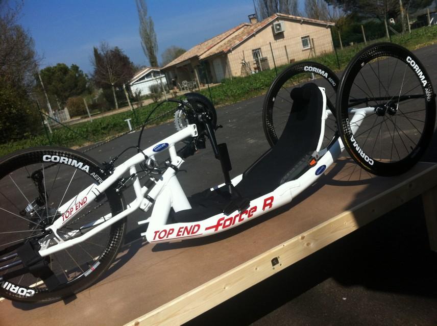 Le nouveau vélo de Chritophe