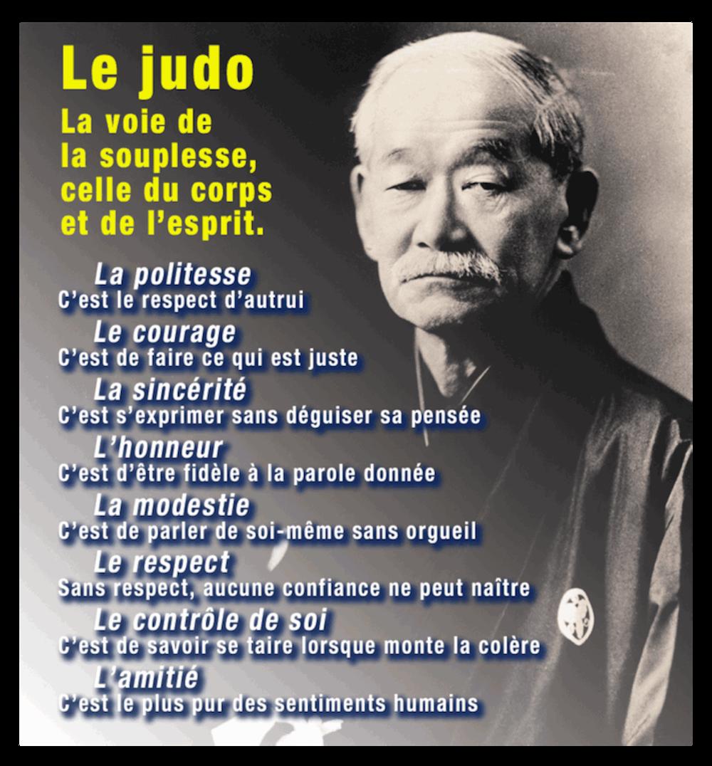 judo code moral