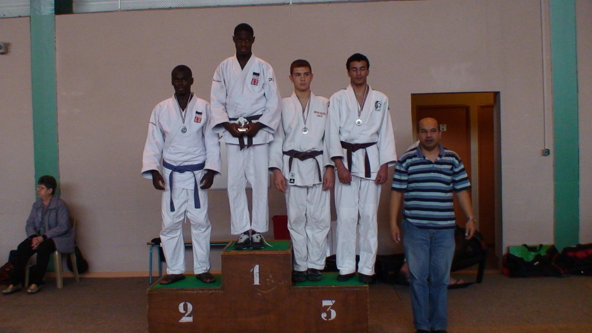 Samuel 1er Championnat cadet 2011