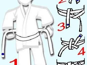 Album - Comment nouer sa ceinture - Photo N°1 - club Judo JUDO - K1 SAINT  CYR SUR MER - Clubeo e43433d7513