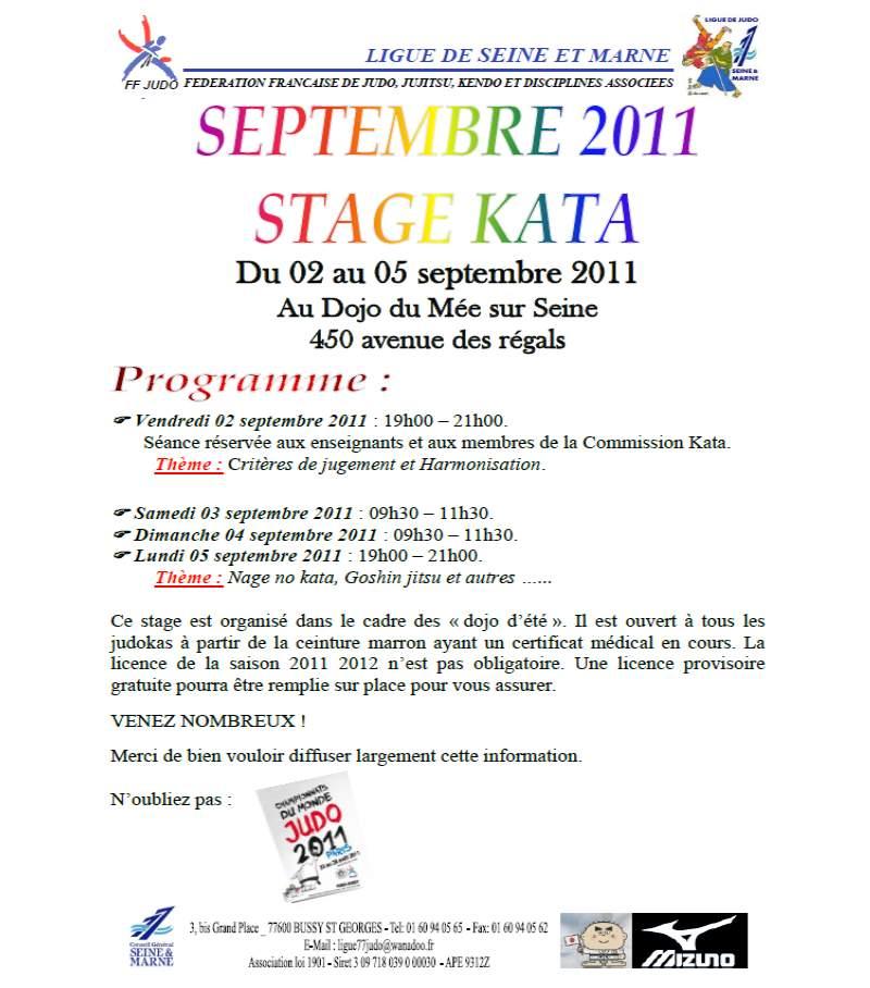 Stage Kata été 2011