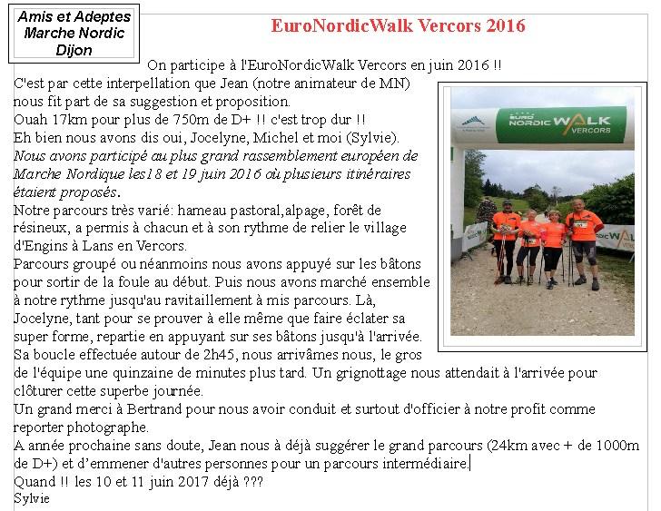 EURO NORDIC WALK 2016