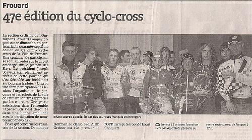 >>>Article De Presse Du 12 Octobre 2011