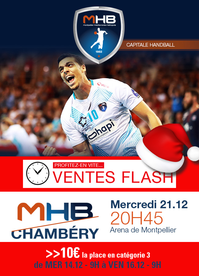 Affiche Match Montpellier Chambery