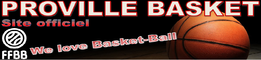 PROVILLE BASKET : site officiel du club de basket de PROVILLE - clubeo