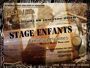 stage enfants danse africaine Rouen