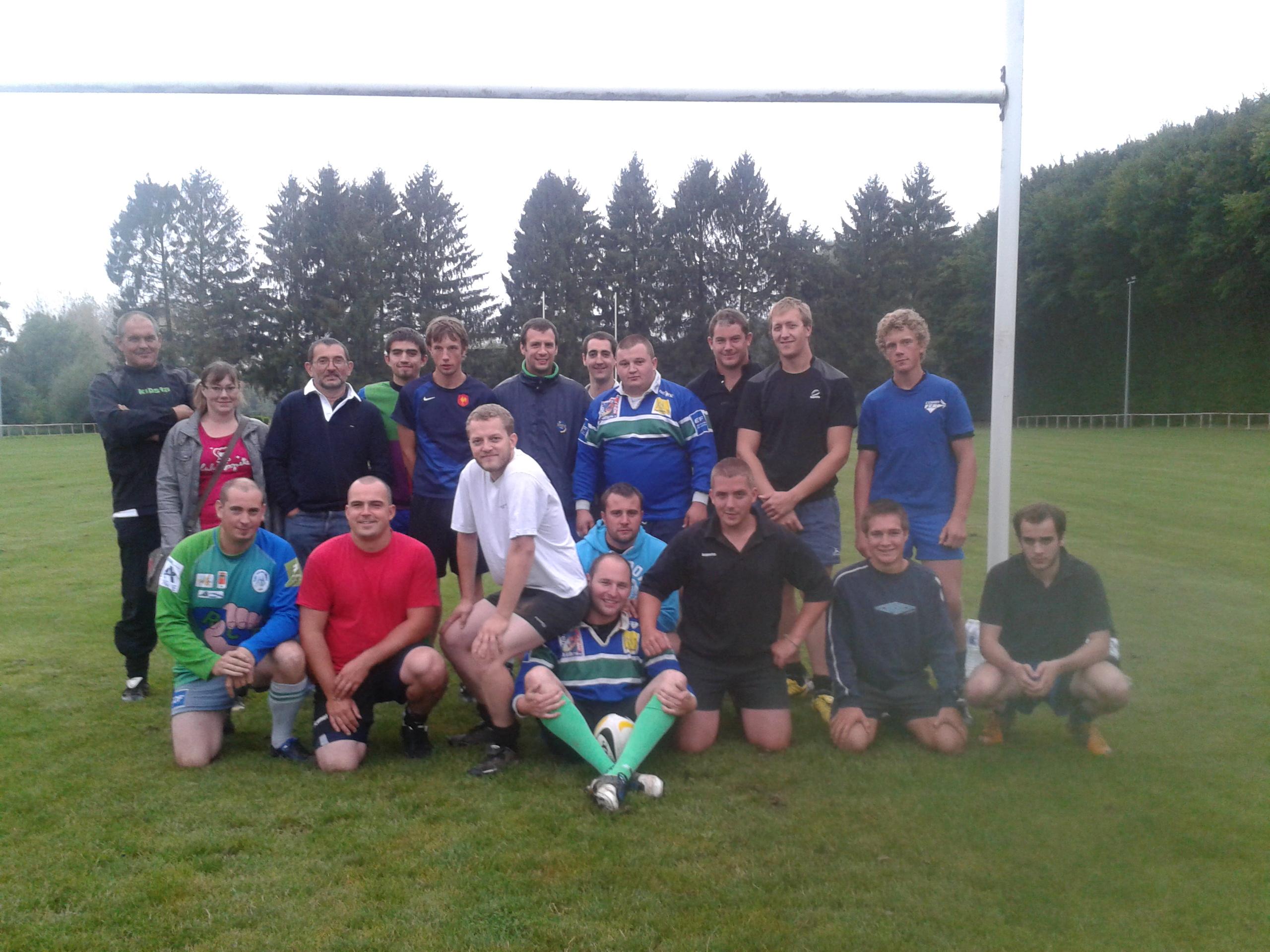 reprise entraînement 2012