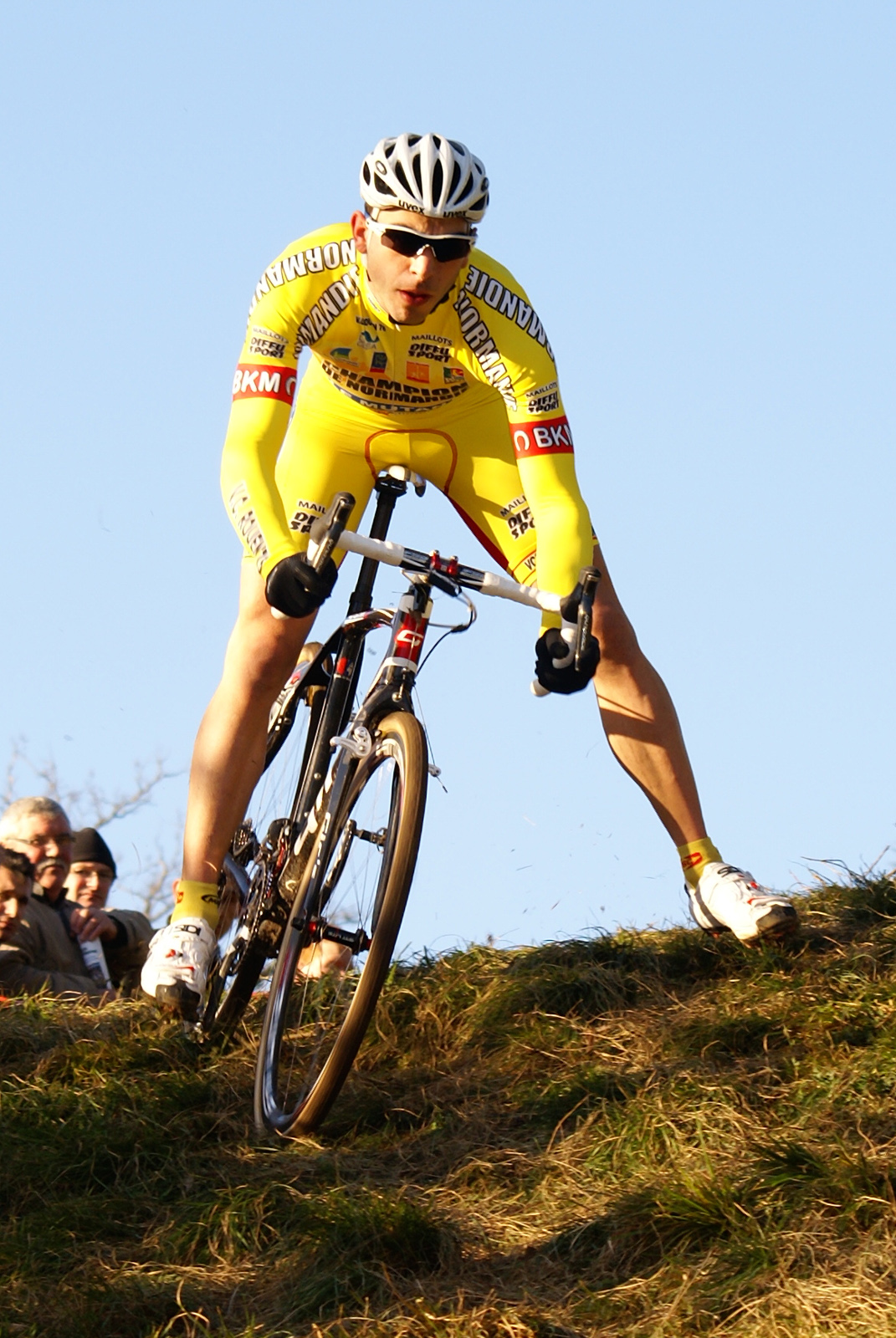 Julien Roussel au Cyclo-Cross de Sablé sur Sarthe