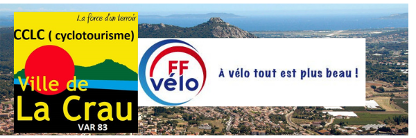 USC LA CRAU : site officiel du club de cyclotourisme de Toulon - clubeo