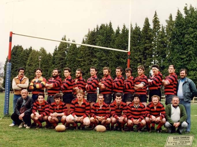 SAISON 1988 / 1989 : 1ère Série