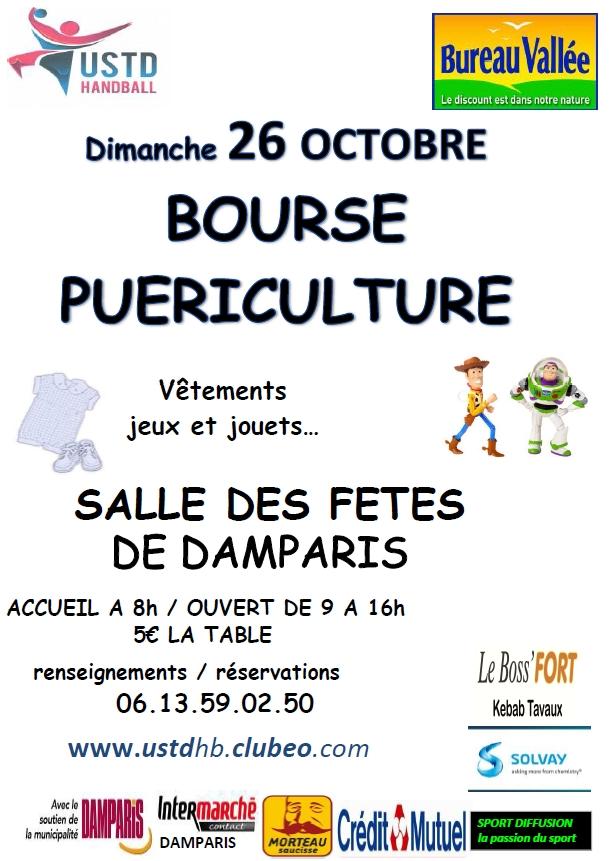 Bourse puériculture le 26 octobre 2014