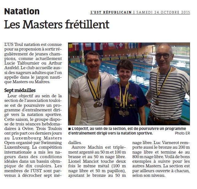Luxembourg Open Maîtres