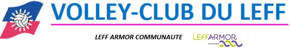 VOLLEY-CLUB DU LEFF : site officiel du club de volley-ball de LANVOLLON - clubeo