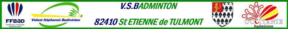 Volant Stéphanois Badminton : site officiel du club de badminton de ST ETIENNE DE TULMONT - clubeo